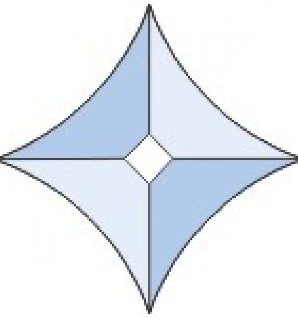 Фацет Decra Bevels DB108/RB334.3 звезда