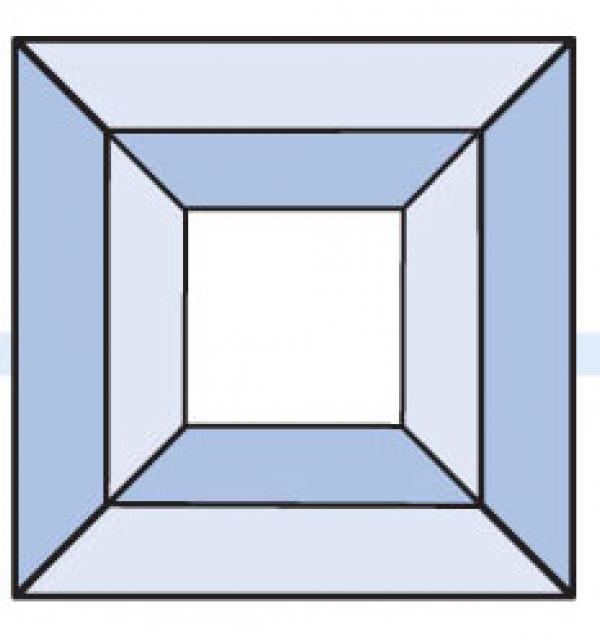 Фацет Decra Bevels DB125 квадрат