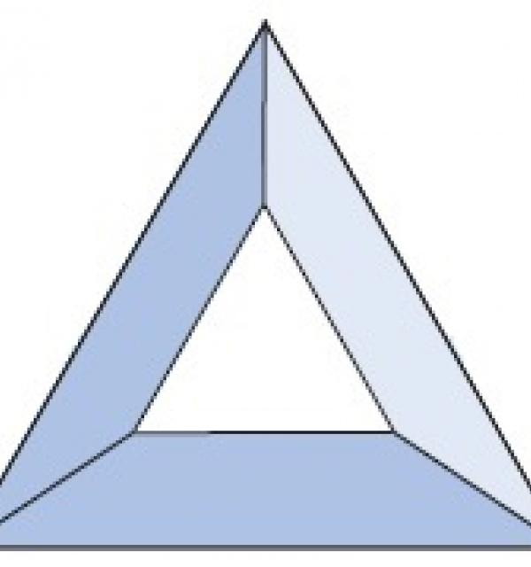 Фацет Decra Bevels DB14 треугольник