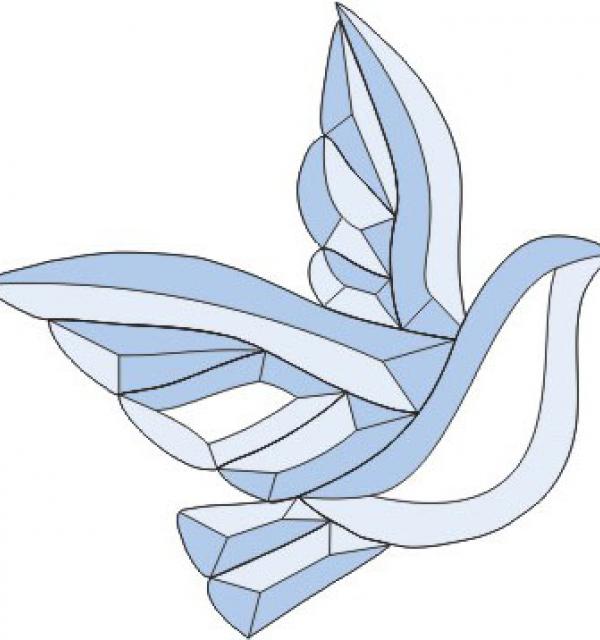 Фацет Decra Bevels DB232A голубь