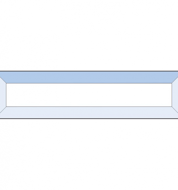 Фацет Decra Bevels DB25 прямоугольник