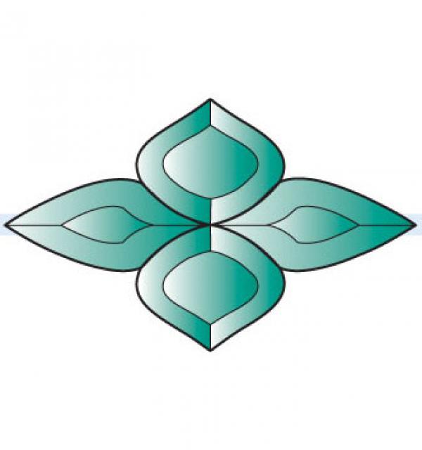 Фацет Decra Bevels DB283 зеленый фрамужный набор