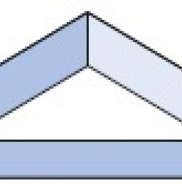 Фацет Decra Bevels DB370 треугольник