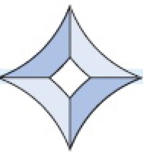 Фацет Decra Bevels DB45 звезда