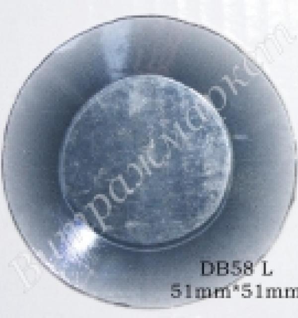 Фацет Decor Bevels DB58L круг