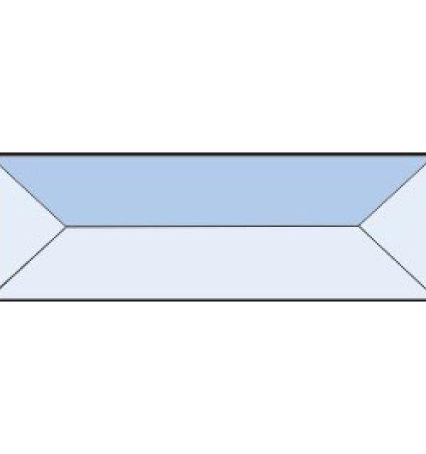 Фацет Decra Bevels DB65 прямоугольник