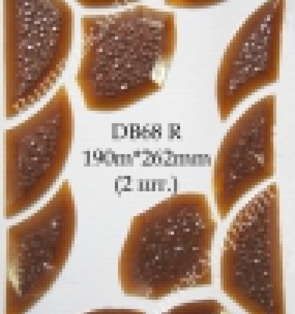 Фацет Decor Bevels DB68R угол