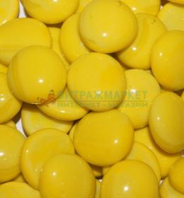 Марблс ТИП-6D Желтый Опал непрозрачный 360 гр/1 уп размер 16-18 мм