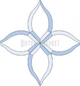 Фацет Decra Bevels DB04/RB234 дверной набор