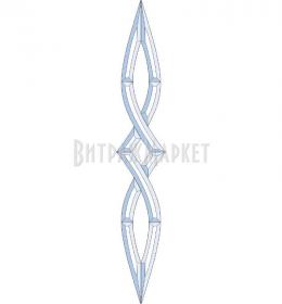 Фацет Decra Bevels DB246/RB259.2 дверной набор
